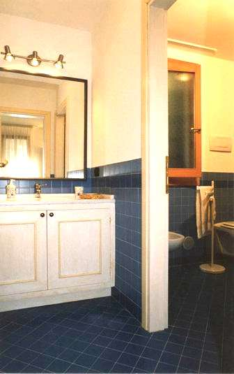 Bathroom in Serenissima apartment