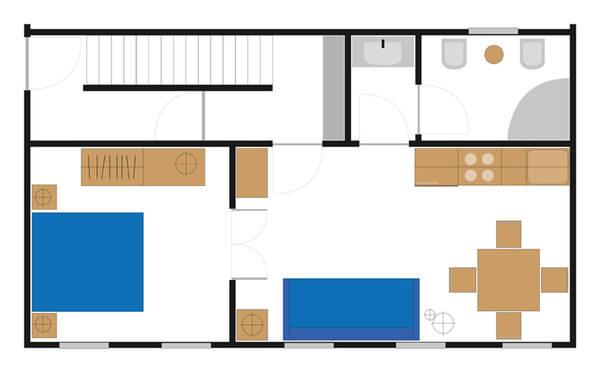 Pianta appartamento Serenissima